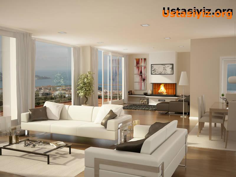 Sizlerde ev yada daire dekorasyonu yaptırmak isterseniz ustasiyiz.org hizmetinizde